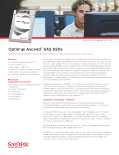 Optimus Ascend™ SAS SSDs